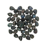 Faceted Teardrop Shaped Rainbow Obsidian Stones - Wholesale.