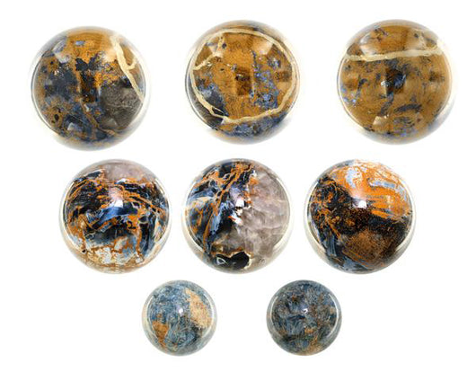 Petersite (Pietersite) Spheres from South Africa - Wholesale
