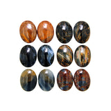 Pietersite Calibrated Oval Cabochon Pairs - Wholesale.