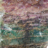 Close Up View of Rainbow Fluorite (Rough) Material.