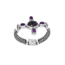Sugilite Sterling Silver Assorted Bracelets - Wholesale.