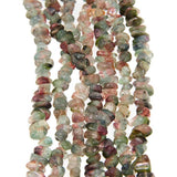 Tourmaline 5mm-7mm Tumbled Beads in 16-inch Strands