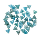Larimar Calibrated Triangle Cabochons - Wholesale.