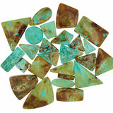 Patagonia Turquoise Assorted Cabochons - Wholesale.