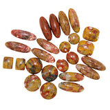 Poppy Jasper Assorted Cabochon Pairs