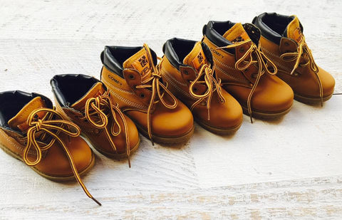 Workers Boots - Toddler: Matchy Matchy