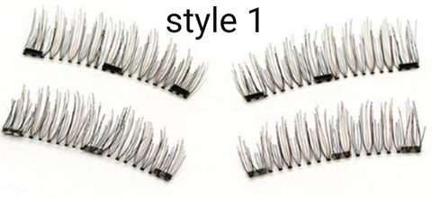 Magnetic Eyelashes - new 3 magnet design