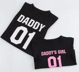 Daddy's Little Girl + Daddy Shirts: Set of 2