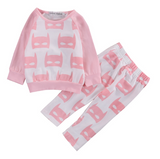 Pretty in Pink Batgirl - Top & Pants set - Little Mr & Mrs Cheeky Pty Ltd