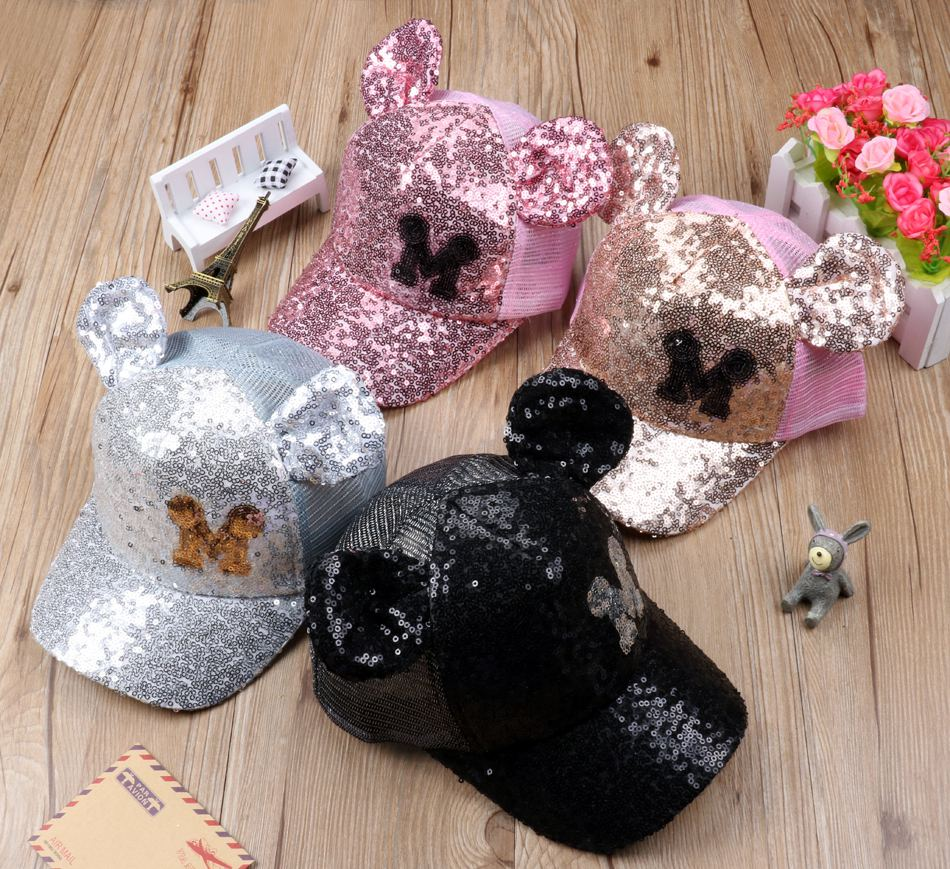 5b97c9799b5 Buy Minnie   Mickey Glitter - Kids Hats at Little Mr   Mrs Cheeky for only   25.00