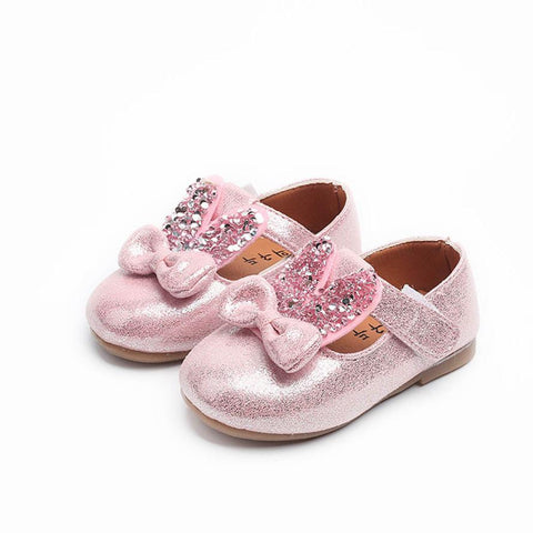 Sparkly Bunny Shoes - Little Mr & Mrs Cheeky Pty Ltd