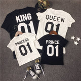 Royalty King + Queen (Matching Shirts) - Little Mr & Mrs Cheeky Pty Ltd