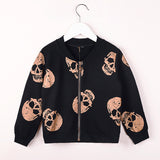 Rock the Skulls Jacket - Little Mr & Mrs Cheeky Pty Ltd