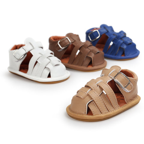 Strappy Sandals - Hard Soles - Little Mr & Mrs Cheeky Pty Ltd