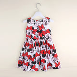 Red Bow Minnie Dress - Little Mr & Mrs Cheeky Pty Ltd