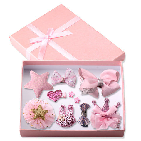 10 Piece Princess Headband Set (with box) - Little Mr & Mrs Cheeky Pty Ltd