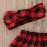 Plaid Skirt + Headband Set - Little Mr & Mrs Cheeky Pty Ltd