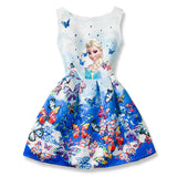Frozen Disney Inspired Dresses - Little Mr & Mrs Cheeky Pty Ltd