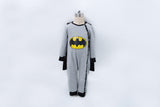 Batman Cape Romper + Beanie - Little Mr & Mrs Cheeky Pty Ltd