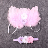 Angel Wings & Headband Sets - Little Mr & Mrs Cheeky Pty Ltd