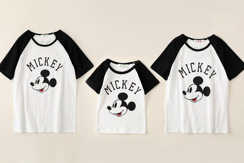 All about Mickey - Matchy Matchy (Mum + Child Size) Set of 2 - Little Mr & Mrs Cheeky Pty Ltd