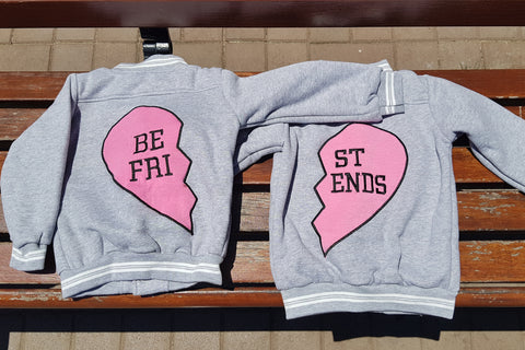 Best Friends Rider Jackets (Set of 2) - Little Mr & Mrs Cheeky Pty Ltd