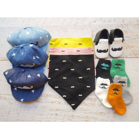Baby Moustache Gift Set - Little Mr & Mrs Cheeky Pty Ltd