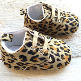 Leopards  Booties - Little Mr & Mrs Cheeky Pty Ltd