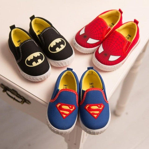 Super Hero Shoes - Toddler - Little Mr & Mrs Cheeky Pty Ltd