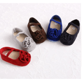 Suede Floral: Red, Brown, Blue, Black & Grey - Little Mr & Mrs Cheeky Pty Ltd