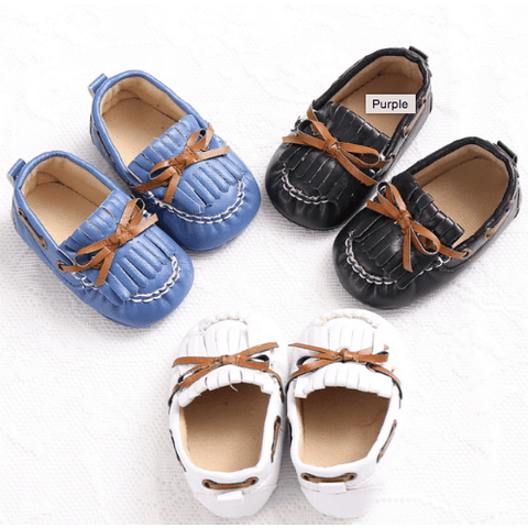 So Cute Moccasins: Black, Blue, Purple, Pink & White