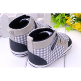 Plaid Boots - Little Mr & Mrs Cheeky Pty Ltd