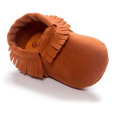 Suede Moccasins - Little Mr & Mrs Cheeky Pty Ltd