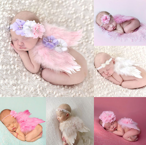 Angel Wings & Headband Sets