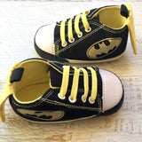 Bat Baby Hightops (Laces or Strap) - Little Mr & Mrs Cheeky Pty Ltd