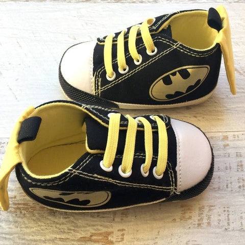 Bat Baby Hightops (Laces or Strap)