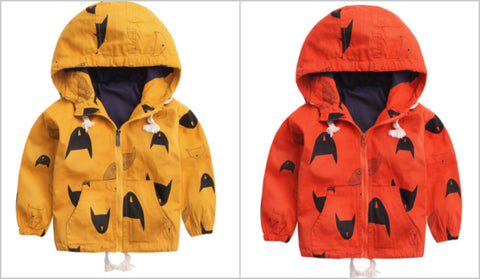 Urban Batman Jackets (Red or Yellow) - Little Mr & Mrs Cheeky Pty Ltd