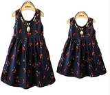 Matching Mummy & Me Cherry Picker Dress: Matchy Matchy - Little Mr & Mrs Cheeky Pty Ltd