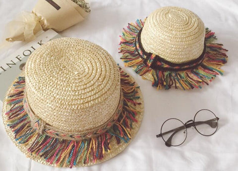 Coloured Fedora Hats: Matching Mum + Kids Set