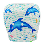 Waterproof Adjustable Swimming Diapers: Adjustable & Reusable, fits ages 0-3 years