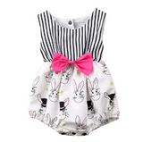 Easter Bunny Romper - Little Mr & Mrs Cheeky Pty Ltd