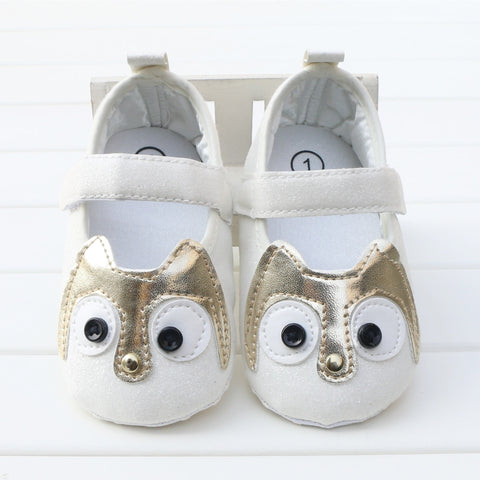 Hoot Hoot Ballets (Silver, Gold, Pink & White) - Little Mr & Mrs Cheeky Pty Ltd