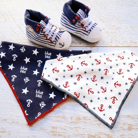 Nautica High Tops + Bib - Little Mr & Mrs Cheeky Pty Ltd