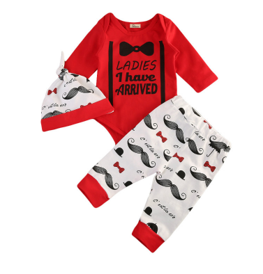 Ladies, i have arrived - Romper Set - Little Mr & Mrs Cheeky Pty Ltd