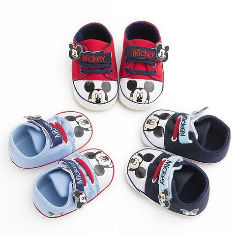 All About Mickey - Hard Soles - Little Mr & Mrs Cheeky Pty Ltd