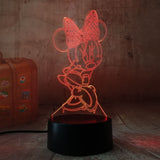 7 Colours USB Lamps Gift: Various Styles Batman, Minnie, Mickey, Teddy, Xmas and more!