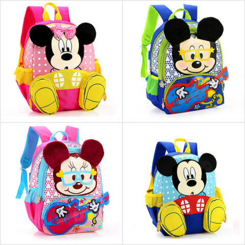 Back to School with Minnie & Mickey Bags - Little Mr & Mrs Cheeky Pty Ltd