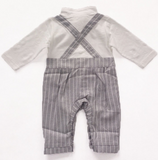 Little Mr Clooney: Romper Set - Little Mr & Mrs Cheeky Pty Ltd