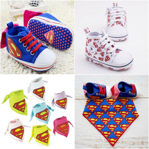 Super Baby High Tops + Bib - Little Mr & Mrs Cheeky Pty Ltd