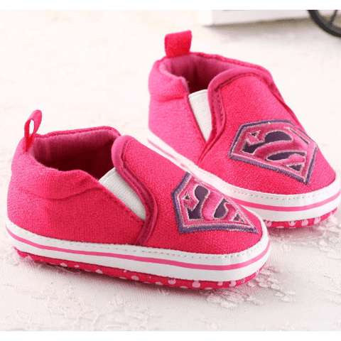 Super Girl: Dark Pink & Light Pink - Little Mr & Mrs Cheeky Pty Ltd